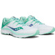 saucony Guide ISO Shoes Women White/Aqua